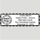 Arizona Notary stamp