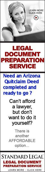 Prepare an Arizona Quit claim Deed Form