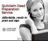 quitdeed preperation service